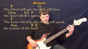 The Blind Will See The Deaf Will Hear Lyrics Mary Did You Know Bass Guitar Cover Lesson In Am With Chords