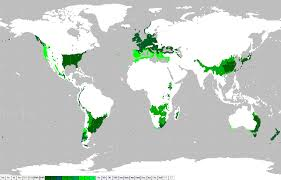 Mali Location On World Map by
