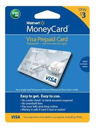 no fee prepaid debit cards how do i reload my walmart moneycard creditshout