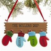 personalized family ornaments personalizationmall