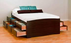 letto cassetti gallery of letto con cassetti in noce sucupira la bottega
