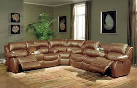 Small Sectional Sofa With Recliner by Sectional Sofa With Recliner Leather Sectional Sofa
