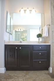 Restain Kitchen Cabinets Without Stripping by How To Stain Oak Cabinets The Simple Method Without Sanding
