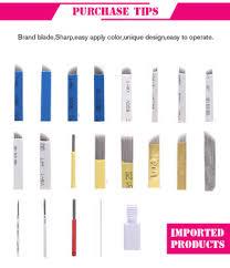 wholesale stainless steel tattoo kit tattoo needle microblading