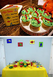 Thing One And Thing Two Party Decorations Twin Baby Shower Theme Ideas