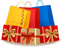 christmas shopping bags collection of shopping bags and gift boxes concept of