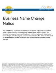 business letter template company name change sample good resume