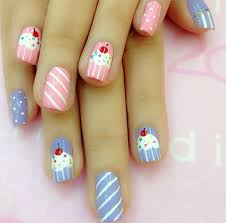 10 awesome happy b u0027day cake nail art designs u0026 ideas 2014 for