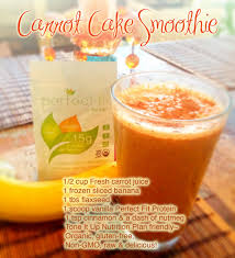 carrot cake smoothie 1 2 cup fresh carrot juice 1 frozen sliced