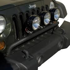 jeep wrangler black lights all things jeep bumper mounted light bar for jeep wrangler jk