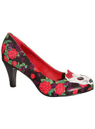 Skull High Heels Sweet As Sugar Skull High Heels By T U K Shoes Pumps U0026 Heels