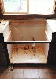 kitchen sink cabinet base apron front sink cabinet base best home furniture design