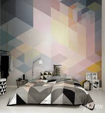 Decorating With Wallpaper by 22 Modern Ideas For Bedroom Decorating With Bold Geometric