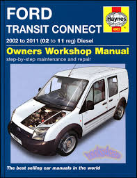 transit connect shop manual service repair ford book 2010 2011