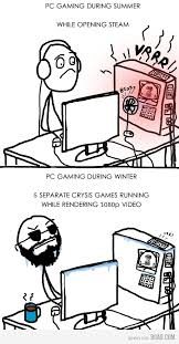 Pc Gamer Meme - 9 gag comics the pc gaming seasons