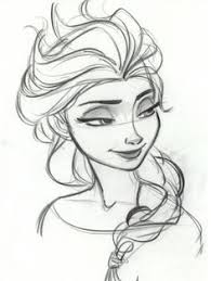 drawing frozen characters drawing art frozen
