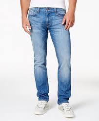 mens light blue jeans skinny guess men s light blue slim straight fit stretch jeans jeans men