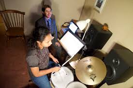 Teaching Deaf Blind Students Blind Deaf Drummer Beats Physical Hurdles The Columbian