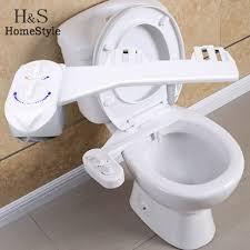 Luxe Bidet Mb110 Fresh Water Spray Raritan Standard Electric Toilet White Marine Size Bowl 12v One