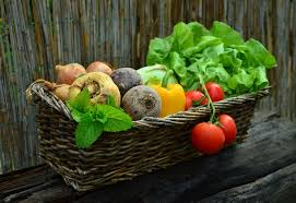 basket of fruits what fruits and vegetables are in season and when