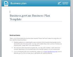 tourism business plan template
