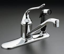 kitchen water faucets kitchen faucets with sprayer trinsic single handle pull