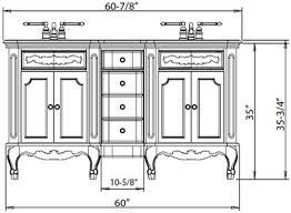 Height Of A Vanity Brilliant Standard Height For Bathroom Vanity Using Helpful Images