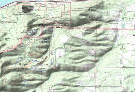 Mt Hood Trail Map Hood River Post Canyon Seven Streams Trails Mountain Biking And