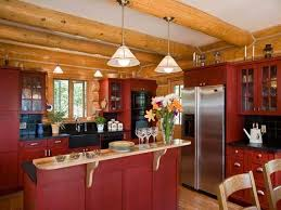 rustic red paint for kitchen u2014 jessica color