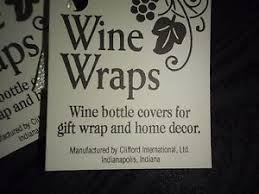 wine bottle wraps wine bottle wraps decoration home decor cover for gift wrap ebay