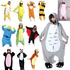 Pikachu Halloween Costume Men Flannel Pajamas Cute Korean Pajama Men Women Onesie Sleepwear