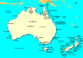 map of tasmania australia hobart tasmania australia discount cruises last minute