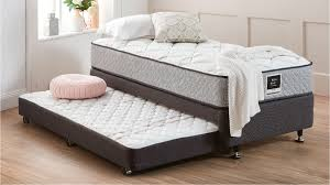 Single Bed Frame With Trundle Great Bedroom Decoration Trundle Bed Frame Trundle Mattress