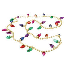 christmas light necklace christmas lights necklace christmas party supplies at amols