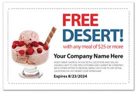 restaurant coupon flyer design template sfl 1010