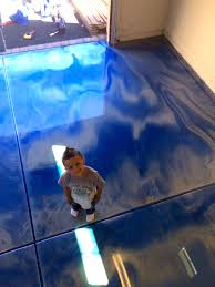 blue metallic epoxy flooring contractor mesa arizona gallery