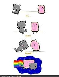 Nyan Cat Meme - image 216946 nyan cat pop tart cat know your meme