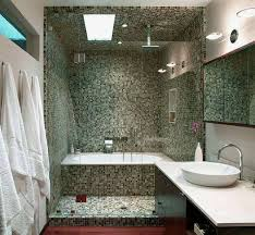 small bathroom shower ideas with mosaic tiles small bathroom