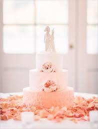 peach ombre wedding cake peach ombre wedding cake weddingchicks cakes dessert tables