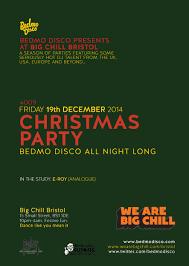 christmas party bedmo disco