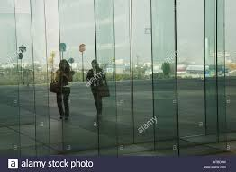 Glass Walls by Glass Walls Of The Terrace Of The Grand Arche In La Defense