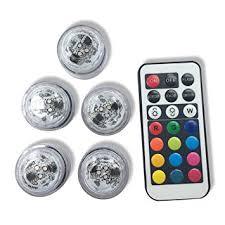 small led lights with remote amazon com qicai h flameless led tea lights multi color option