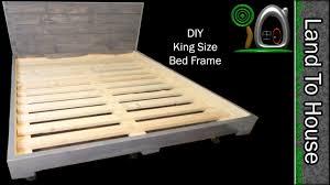 Simple Diy Bed Frame Bed Frames Platform Bed Woodworking Plans Diy Platform Bed Frame