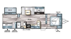 Montana Rv Floor Plans by New 2017 Forest River Salem 28ckds 8727