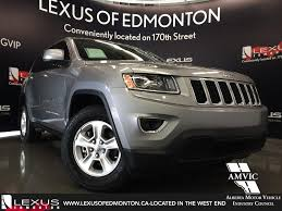 lexus sport jeep used silver 2015 jeep grand cherokee 4wd laredo review airdrie