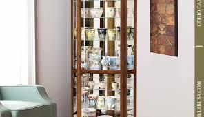 ashley furniture corner curio cabinet marvelous furniture corner curio cabinet black finish small white