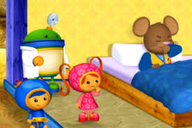 making doormouse team umizoomi play doh