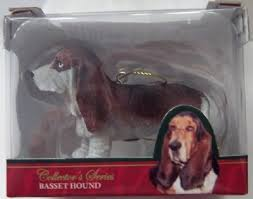 american canine association basset hound le ornament