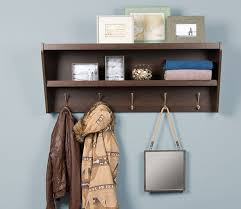 entryway rack floating coat rack and entryway shelf
