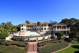 12 9 million mediterranean waterfront mansion in clearwater fl